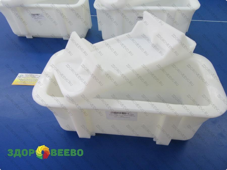 Натуральные средства по уходу за телом Сыроделие Формы для сыра - прямоуголные, кубические, пирамидальные: Форма для сыра на 4 кг, прямоугольная, под пресс