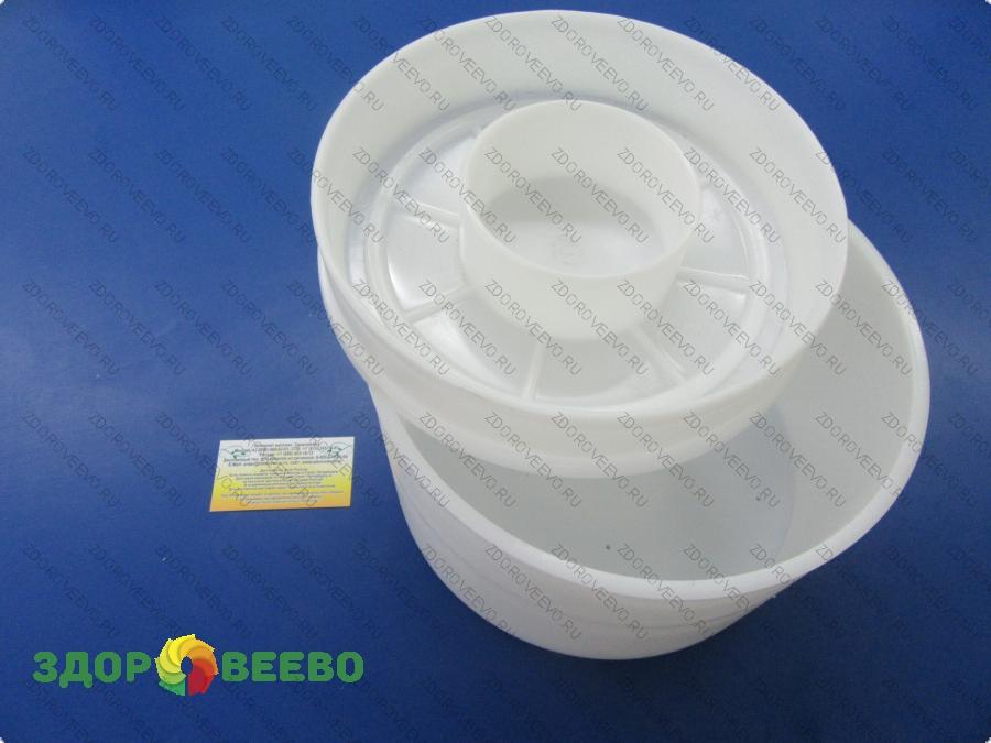 Натуральные средства по уходу за телом Сыроделие Формы для сыра - цилиндрические, конусные: Форма для сыра, цилиндрическая, на 4,500 гр, под пресс