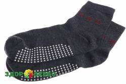Турмалиновые носки с турмалином внизу, в коробочке