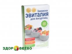 Эвиталия для йогуртниц (упаковка, 5 пакетов по 2 гр.)