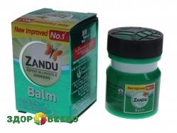Бальзам от простуды и боли Zandu Balm 10 гр